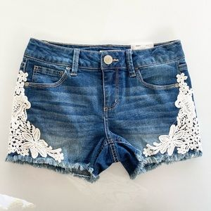 Mudd Jean Shorts Girls Size 12